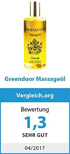 JETZT TESTEN: 100% NATUR, Greendoor Massageöl Set Sortiment Minis, 7x25ml=175ml bestes Massage-Erlebnis, reine BIO Öle Naturkosmetik Manufaktur, beliebtes Geschenk Probierset Ostern Erotik Sets - 5