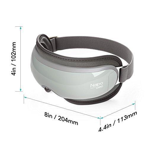 Naipo Augen Massagegerät Elektrisch mit wiederaufladbar Wärmefunktion für Schönheit Entspannung - 6