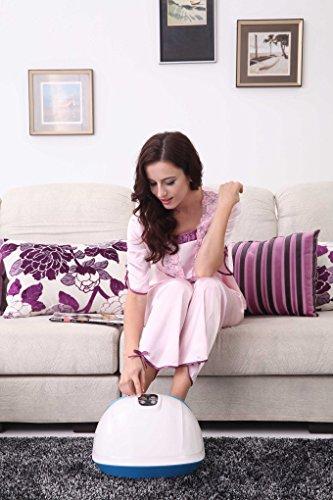Fuss-fit-Maxx Fussmassagegerät - Wellness Oase - Fußreflexzonen Massagegerät - mit 3D-Luftmassagetechnik und zuschaltbarer Wärmefunktion - 2