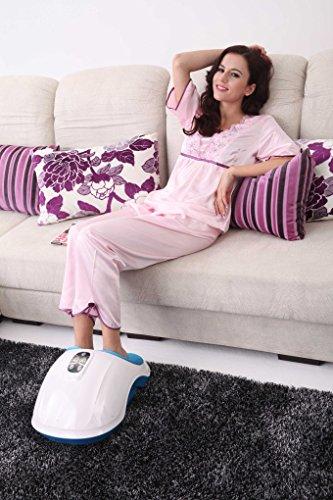 Fuss-fit-Maxx Fussmassagegerät - Wellness Oase - Fußreflexzonen Massagegerät - mit 3D-Luftmassagetechnik und zuschaltbarer Wärmefunktion - 4