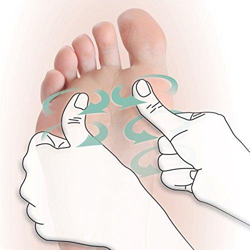 Beurer FM 60 Fußmassagegerät, 18 Massageköpfe, Wärmefunktion, 2 Geschwindigkeiten, durchblutungsfördernde Shiatsu Massage - 4