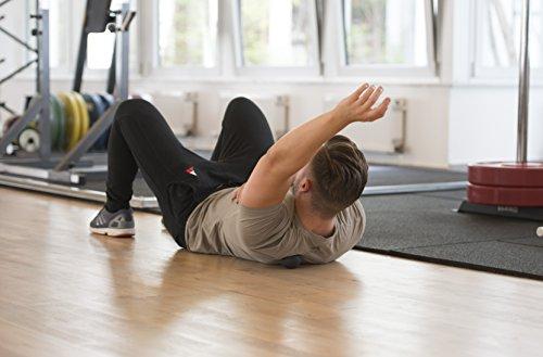 Lacrosse-Ball + Mobility Guide - Als Massage-Ball und Faszien-Ball zur Selbstmassage und zur Triggerpunkttherapie (genaue Behandlung von Verspannungen) geeignet - Anwendung in der Physiotherapie - ATHLETIC AESTHETICS - 3