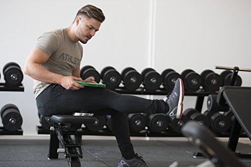 Lacrosse-Ball + Mobility Guide - Als Massage-Ball und Faszien-Ball zur Selbstmassage und zur Triggerpunkttherapie (genaue Behandlung von Verspannungen) geeignet - Anwendung in der Physiotherapie - ATHLETIC AESTHETICS - 6